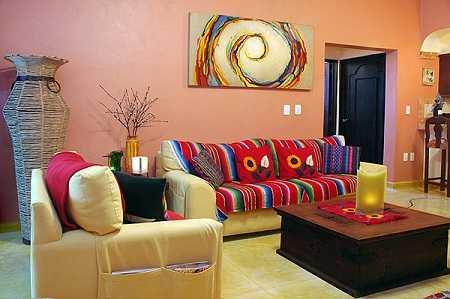 Decoracin estilo mexicano Innova en tu sala  Sala