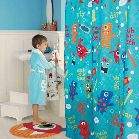 Cortinas De Baño Para Ninos:Decoración de baños para niños