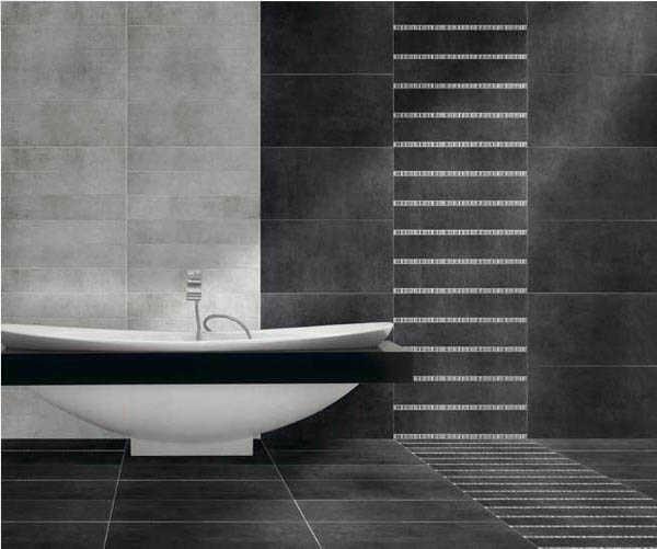 Baño Porcelanato Gris: elegantes ¿Te gustaría revestir tu baño en porcelanato gris