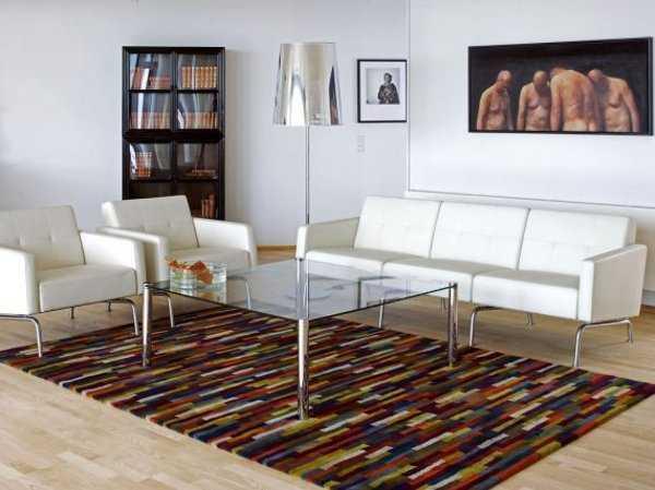 Sala minimalista Modernos accesorios para tu sala en este