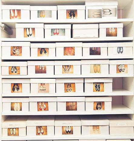 6 maneras geniales de organizar zapatos  Dormitorio