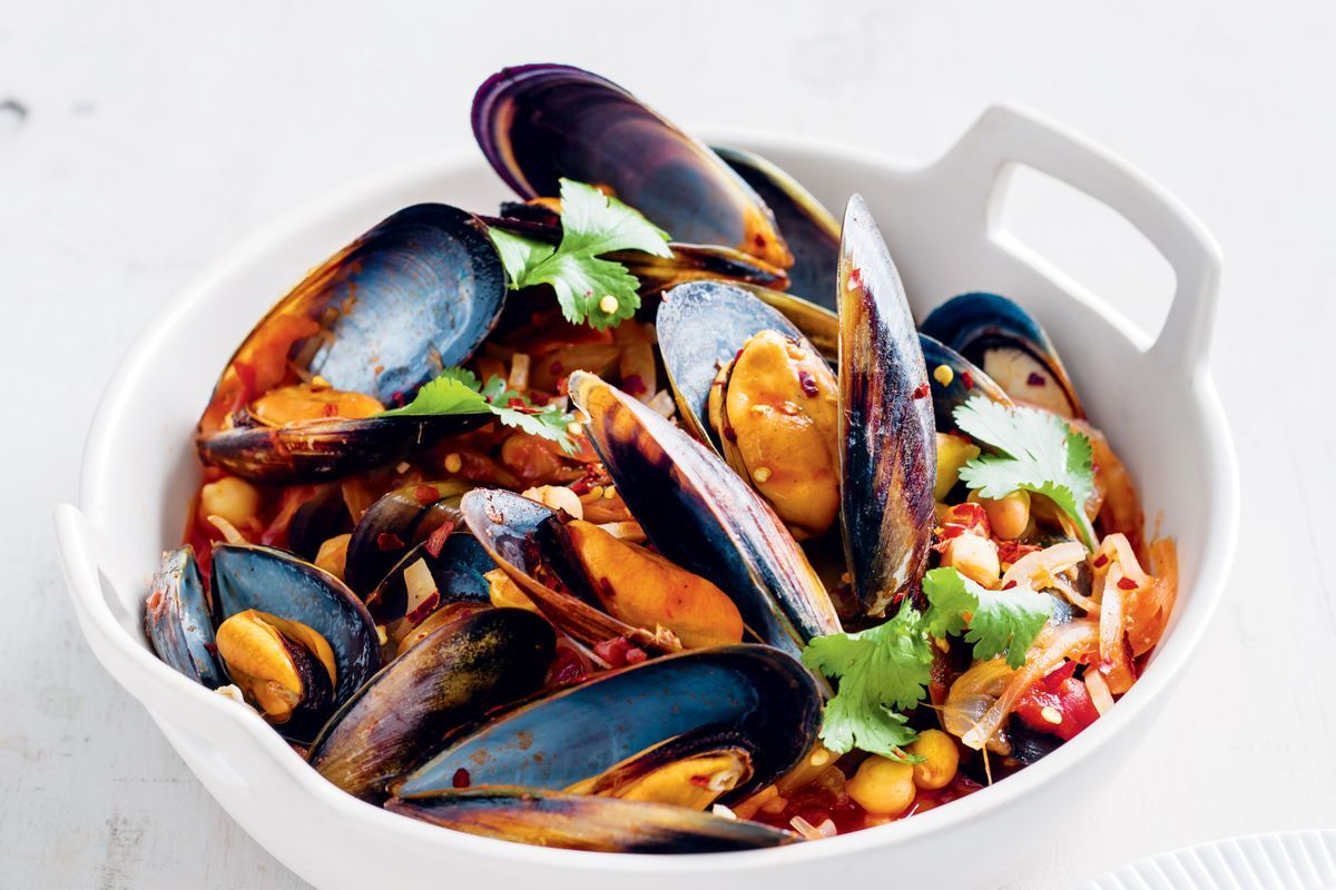 Spicy Mussels With Tomatoes And Fennel Recipes