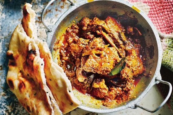 Slow-cooked karnataka pork curry