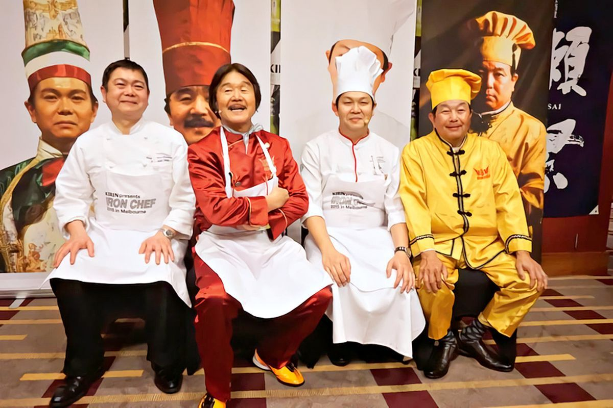 the chairman iron chef french dining chairs singapore secret to becoming an news 43 articles