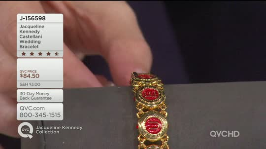 Jacqueline Kennedy Castellani Wedding Bracelet  QVCcom