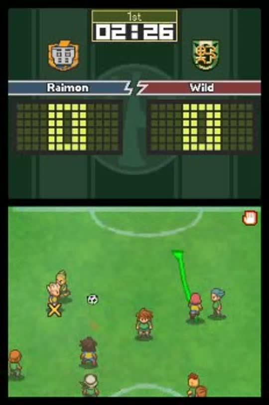 Inazuma Eleven Nintendo DS Games Nintendo