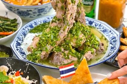 【小琉球x美食】穀泰Good Thai。小琉球最新人氣首選餐廳。曼谷爆紅超夯火山排骨。嘟嘟車手繪牆造景網美必拍。