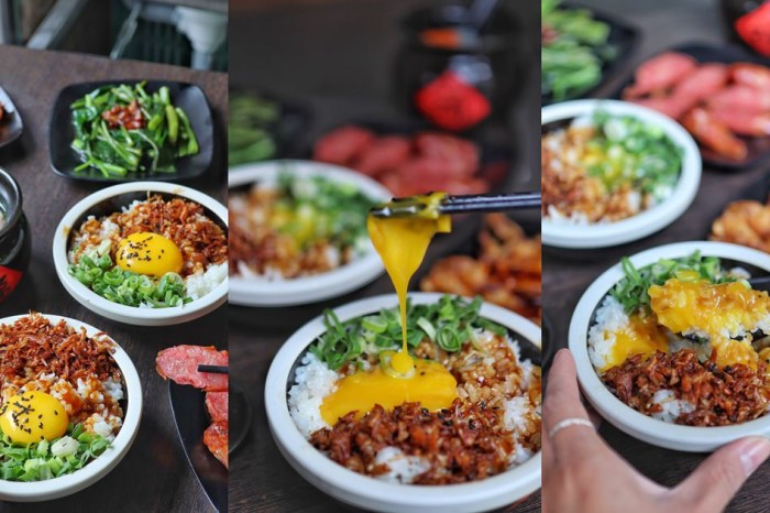 【台中食記】台中火車站古早味小吃。轉運站旁銅板價月見飯。楓の飯。