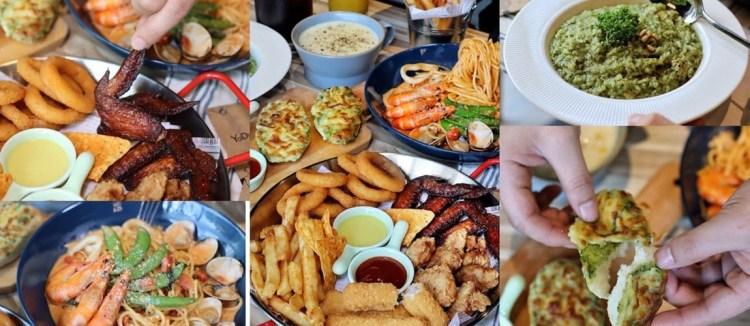 【台中食記】CP值超高義式麵屋『亞丁尼』大份量平價餐點128起,台中四家分店、網美風環境,點主餐送飲料還免服務費。