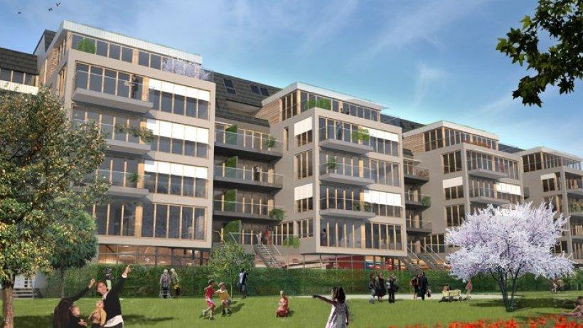 Neubau  Altbau an der Lindemannstrae weicht 70 modernen Wohnungen  Dortmund  derwestende