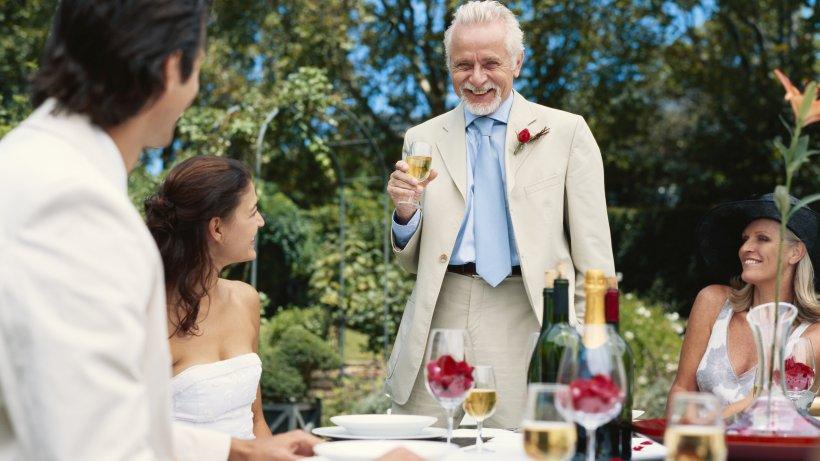 Untersttzung fr den Brautvater bei seiner Rede  Hochzeiten  derwestende