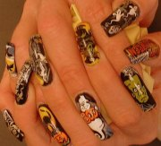 creative crazy nail art