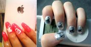 creative crazy nail art