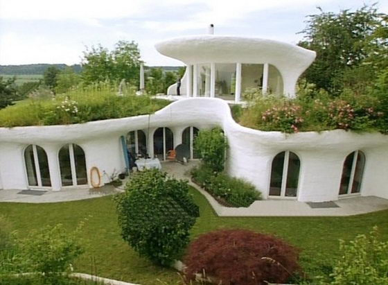 Earth Houses Ecological And Unconventional By Vetsch Architektur