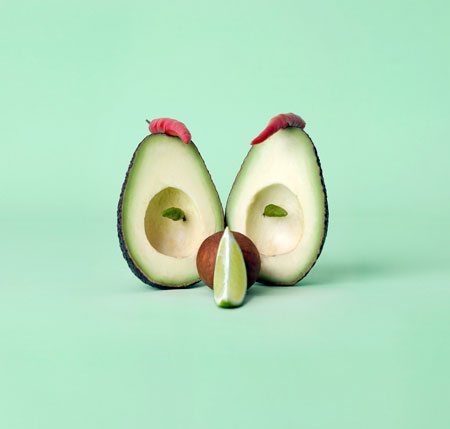 Vegetable Faces Creative and Cute Food Sculptures from Carl Kleiner  Design Swan