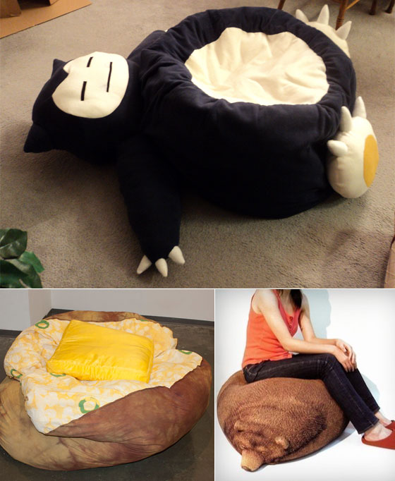 12 Cool and Unusual Bean Bag Chairs  Design Swan