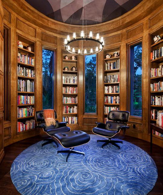 24 Beautiful and Cozy Home Library Ideas  Design Swan