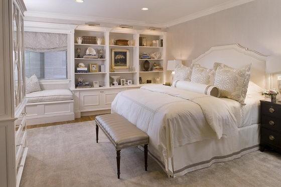 16 Beautiful And Elegant White Bedroom Furniture Ideas