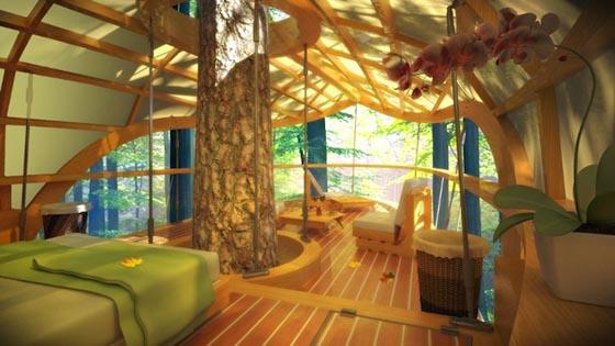 Eco Friendly Eterra Samara Tree House Resort In Canada Design Swan