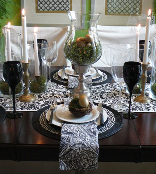 31 beautiful easter table decoration