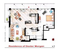 Interesting Detailed Floor Plans of Famous TV Shows by ...
