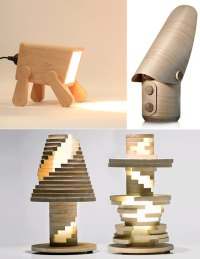 Go Nature: 9 Creative and Cool Wooden Lamp Designs ...