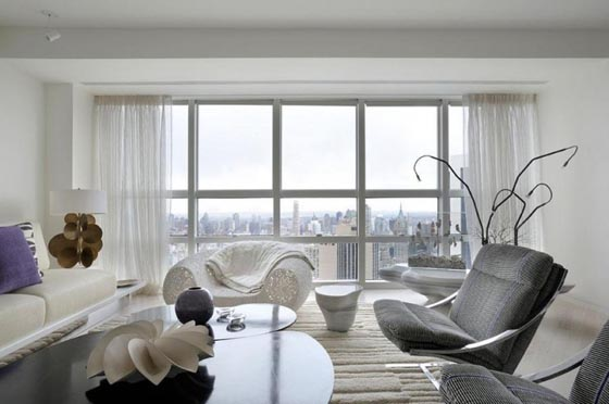 Art Gallery Like Modern Apartment in New York  Design Swan
