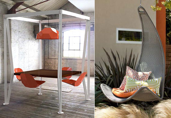 egg chair stand only organza sashes 7 cool swing chairs for indoor and outdoor – design swan