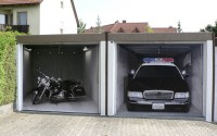 Style your Garage: Creative 3D Garage Doors Stickers ...