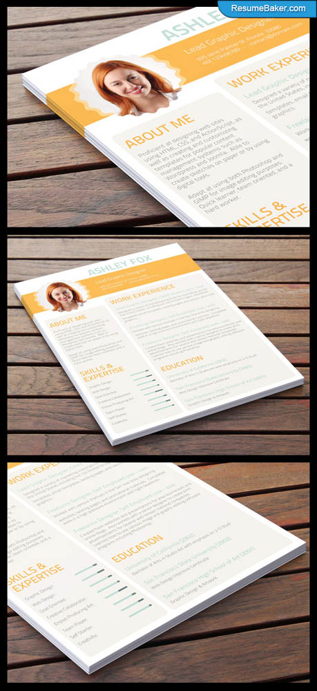 30 Dazzling Resume Layout Examples To Get The Attention Of