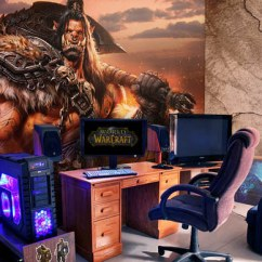 Paint Options For Living Room Light Ideas Epic Video Game With Immersive Wall Mural | Design Swan