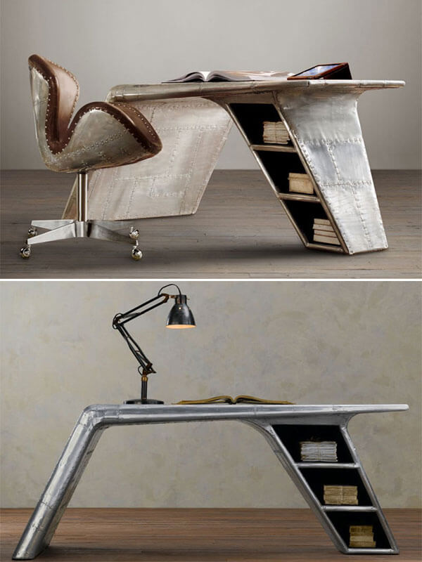office chair parts executive leather unusual furniture made out of reclaimed air-plane – design swan