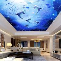 Impressive Ceiling Mural Designs to Spice Up Your Room ...