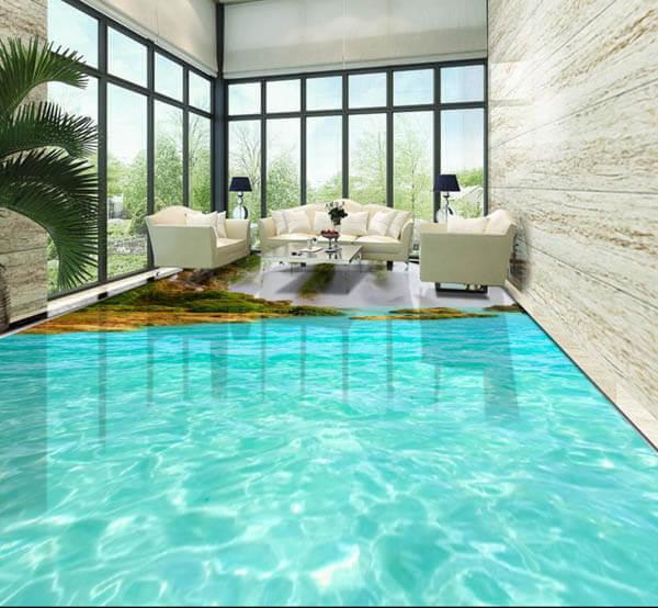 3D Flooring Good or Bad Interior Design Trend  Design Swan