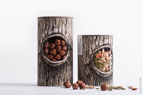 Clever Packaging Design for Nuts and Dried Fruits  Design