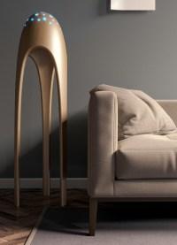 Alien Torchere: Ultra Modern Floor Lamp  Design Swan