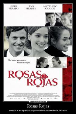 """Resultado de imagen de rosas rojas pelicula"""""""