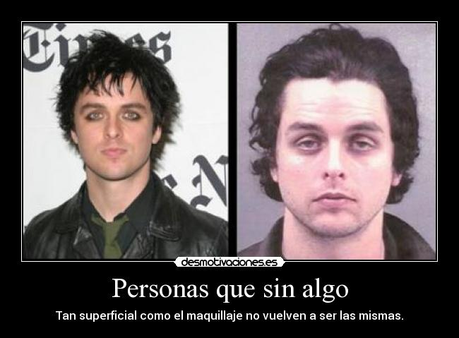 Billie Joe Armstrong No Makeup