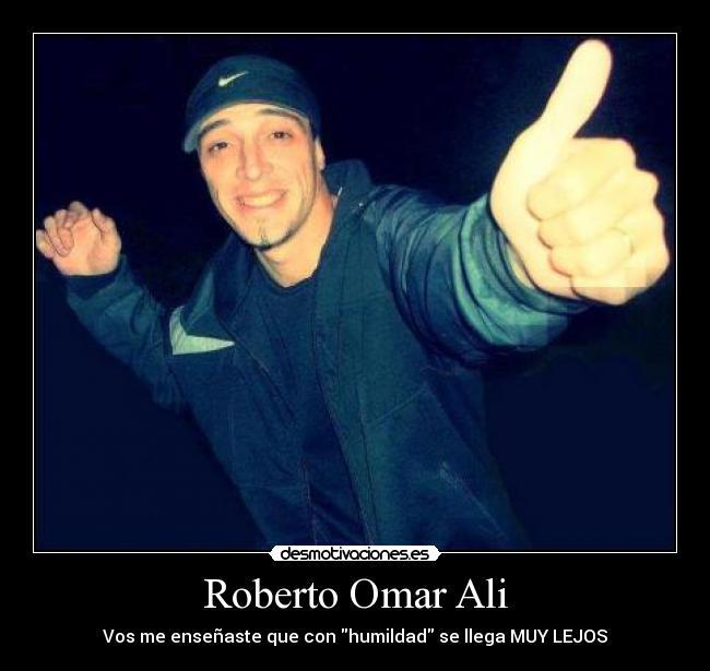 Roberto Omar Ali Desmotivaciones