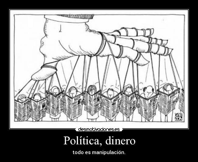 Resultado de imagen para manipulación política