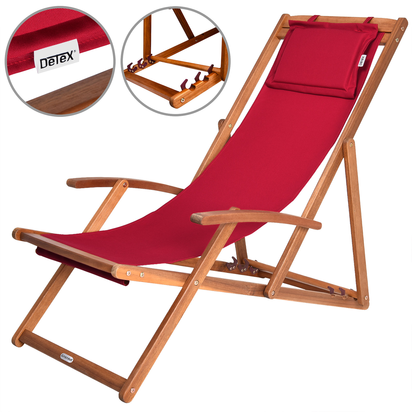 Wooden folding deck chairs garden deckchair furniture