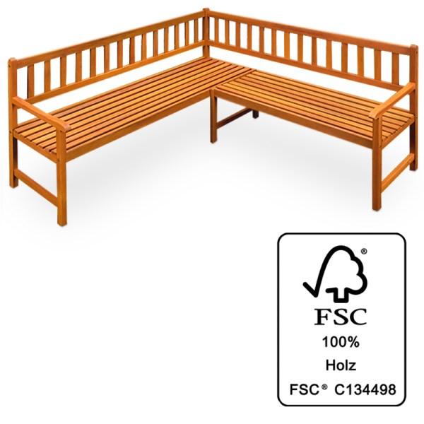 Corner Seat Wood Garden Bench Wooden Park