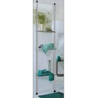 Telescopic Shelf Storage Shelving Unit Organizer Display 3 ...