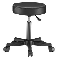 Swivel Chair Stool Adjustable Salon Barber Cosmetic Round