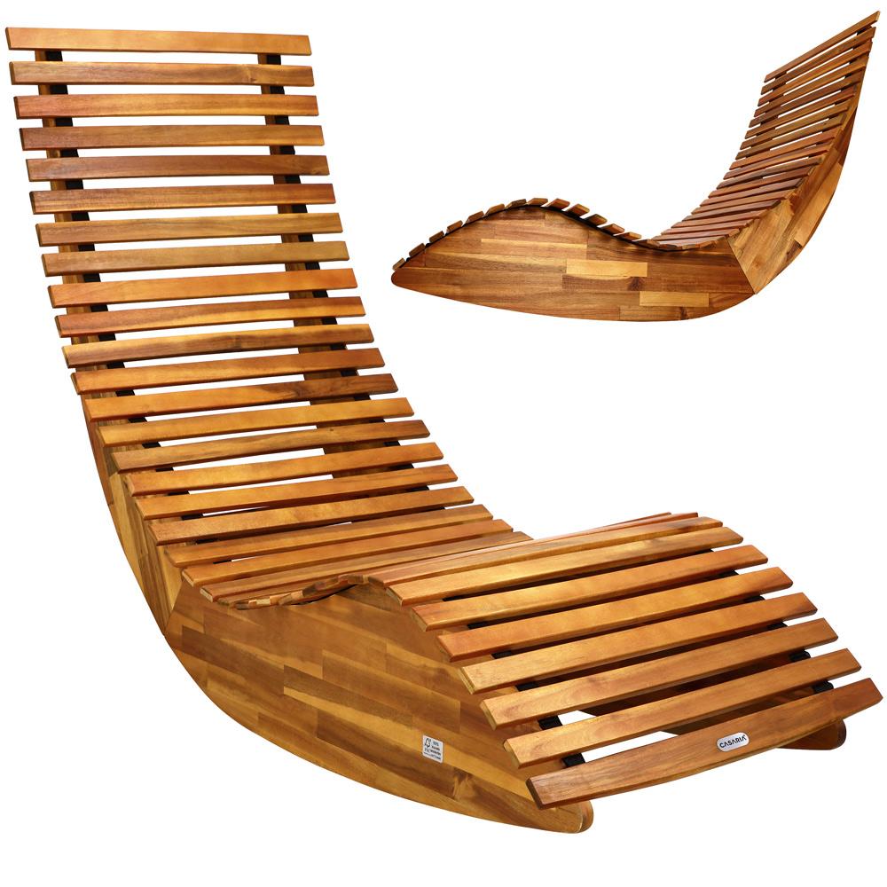 Relaxsessel Garten Holz