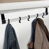 5 Hook Over Door Coat Rack Hanger Clothes Storage Space ...
