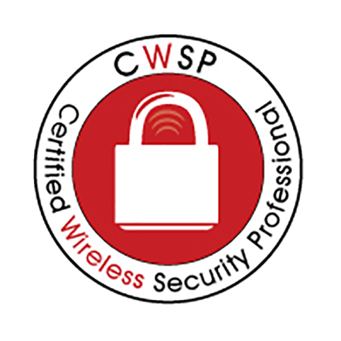 CWNP is a non-profit organization that sets the IT industry standard for vendor-neutral enterprise Wi-Fi certification and training. Currently, CWNP focuses on 802.11 wireless networking technologies and offers 6 levels (Entry to Expert levels) of career certification for Enterprise Wi-Fi in areas including fundamentals, administration, security, analysis, design, mastery and instruction. The CWSP certification is a professional level wireless LAN certification that ensures candidates have the skills to successfully secure enterprise Wi-Fi networks from hackers, without dependency on the brand of Wi-Fi gear deployed in the organization. Prerequisites Applicant must hold a current and valid Certified Wireless Network Administrator (CWNA) credential. Exam CWSP-205 exam administered by Pearson VUE (60 questions, 90 minutes, 70% passing score, 80% passing score for instructors) Approximate Cost for Exam $225 USD URL https://www.cwnp.com/certifications/cwsp Available Courses None Self-Study Material CWNP offers self-study products for CWNP certification exams including books, practice tests, and kits. Online Practice Tests CWSP practice test questions Image Source: CWNP