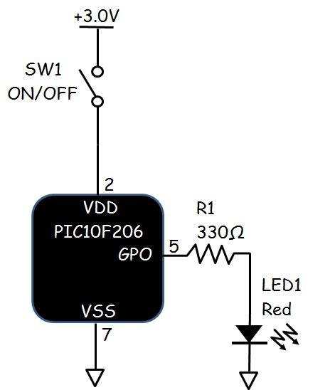 Toggle Switch Circuit Diagram Using 555 Timer Ic