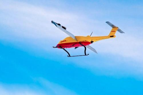 Copter-based last mile deliveries integrated for the first time using fully automated loading and offloading at specially developed 'packstations.'