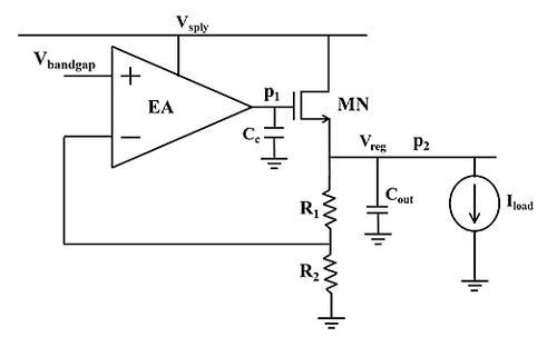 unregulated power supply block diagram